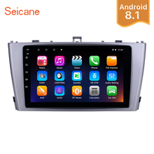 Seicane 2din GPS Navigation 9 Android 8.1 Car Multimedia Player For 2009-2013 Toyota AVENSIS Support Rearview camera 1080P DVR