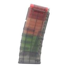 12 Reload Clip Magazines Round Darts Replacement Plastic Magazine Toy Gun Soft Bullet Clip For N-Strike Elite Kids Gift