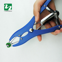 Piglets The Sheep Castration Rings 100 Pcs Tail Docking Clamp Bloodless Castration Pliers Tails Device Tail Docking Ring