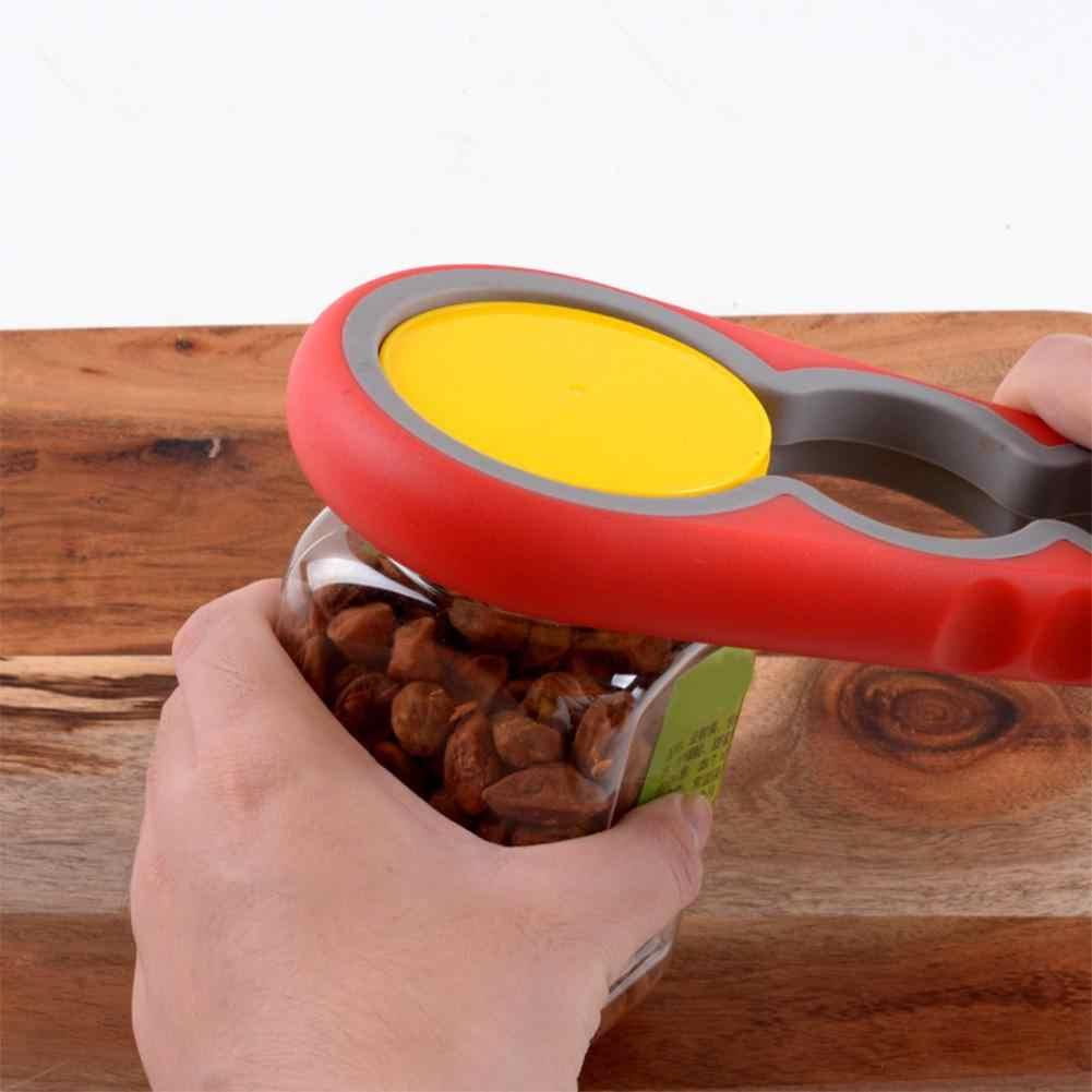 מכסה צנצנת פותחן 4 ב 1 שימושי בורג צנצנת בקבוק פותחן רב תכליתי תכליתי יכול פותחן מטבח גאדג 'טים
