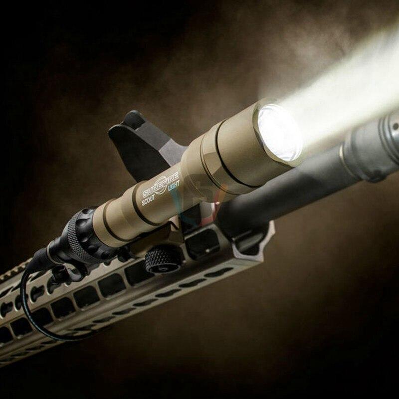 arma tatica m600 luz caca scout luz 05