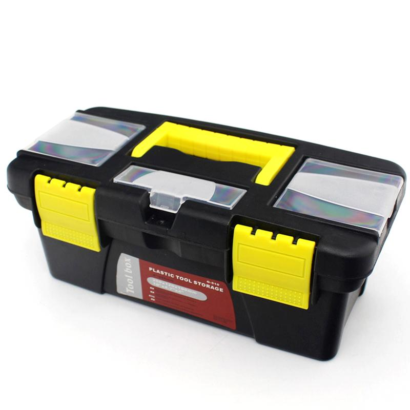 10 Inch Multifunctional Instrument Parts Hardware Tool Storage Box ABS Plastic Toolbox Electrician Box