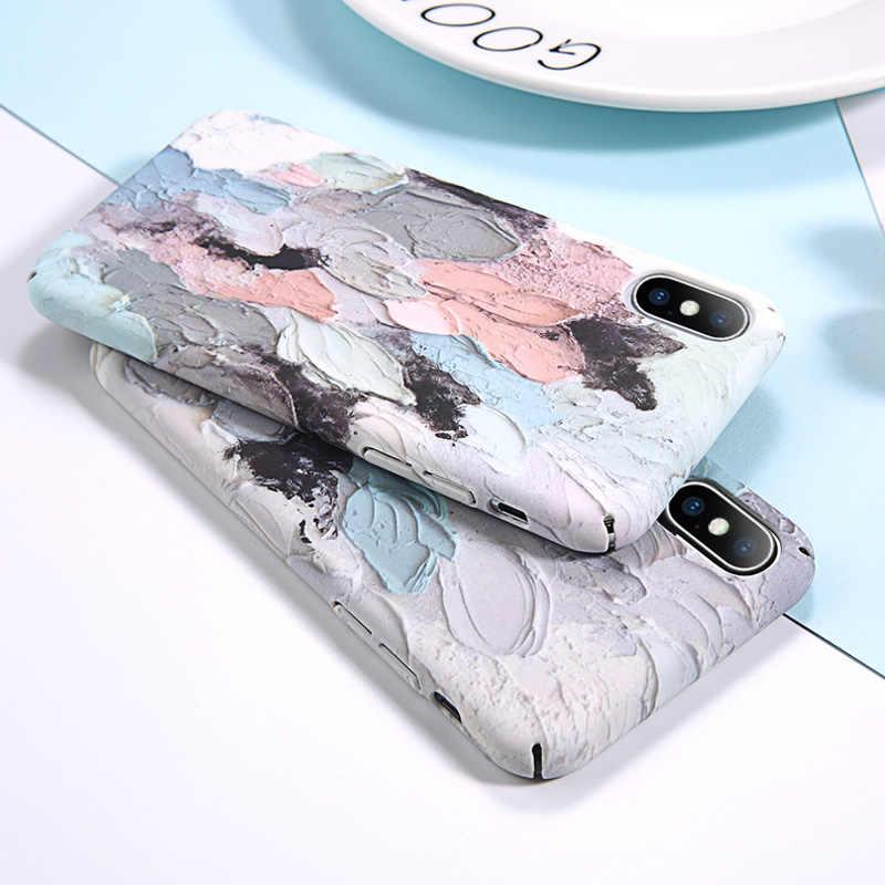 d6e3f11943 ... Ottwn Dye Luminous Case For iPhone XS Max XR 7 8 Plus Graffiti Hard PC  Phone ...