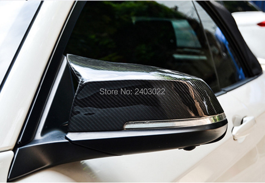 Pair Car Side Style Mirror Covers Replacement Fit For 2013 2017 Bmw F30 F20 F21 F22 F 31 F34 F35 F32 F33 F36 Sedan in Mirror Covers from Automobiles Motorcycles