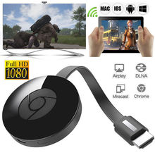 สำหรับ Miracast HDMI 1080 Media Video Streamer 3rd Generation สำหรับ Chromecast 3(China)