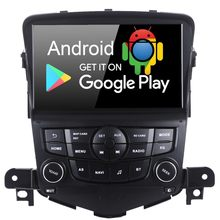 "8 ""Android 9.0 Car GPS Navigator Multimedia Player de Rádio Auto Estéreo para Chevrolet Cruze 2008 2009 2010 2011 com PX6 4 GB + 64 GB(China)"