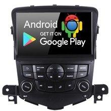 """8 """"Android 9.0 GPS Per Auto Radio Stereo Auto Navigator Multimedia Player per Chevrolet Cruze 2008 2009 2010 2011 con PX6 4 GB   64 GB"""