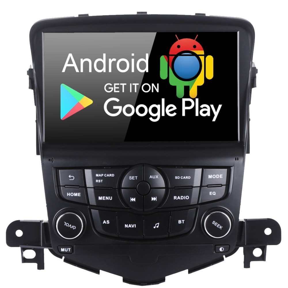 8 Android 9.0 Car GPS Radio Auto Stereo Navigator Multimedia Player for Chevrolet Cruze 2008 2009 2010 2011 with PX6 4GB+64 GB