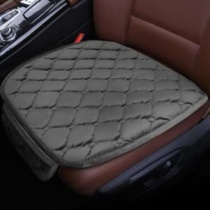 Image 4 - 1Pcs רכב כרית מושב חורף החלקה רכב כרית להתחמם יהלומי רכב מושב כיסוי אביזרי רכב מחצלת