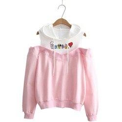 Hoodie kpop Hoodies Women Femele Pullover cartoon Sweatshirts For female k pop Highstreet K-pop Hooded 6