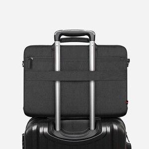 Image 3 - حقيبة كمبيوتر مقاومة للماء من WIWU لأجهزة MacBook Pro 16 A2141 2019 حقيبة كمبيوتر عصرية من النيلون حقيبة كمبيوتر محمول لماك بوك برو 15 حقيبة
