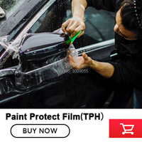Paint Protection Film roll paint car adhesive vinyl rolls self healing rino High transparency and clearness 1.52m*15m