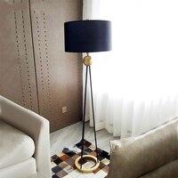 Nordic retro lofe led lâmpadas de assoalho quarto moderno sala estar em pé lâmpada decoração do hotel luminária iluminação|Luminárias de pé| |  -