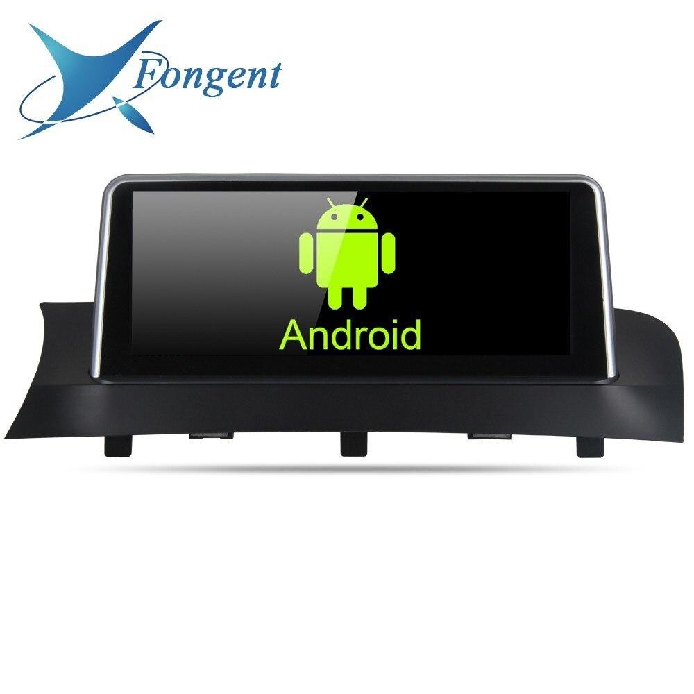 10.25 pouces IPS Écran android Stéréo Multimédia Pour Bmw X3 F25 X4 F26 2011 2012 2013 2014 2015 2016 2017 Navigateur Gps NBT CIC