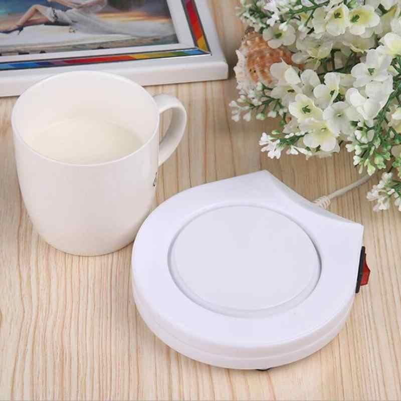 60 องศาอุณหภูมิความร้อนฉนวนกันความร้อนจานไฟฟ้าอุ่นนมขวดถ้วยอุ่นเครื่องทำความร้อนความร้อน forCup แก้ว