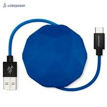 Кабель USBepower COSMO 100 см Type-C цвет синий/COSMOCBL