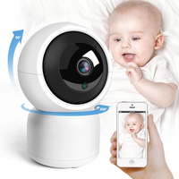 Ip Camera Wifi Auto Tracking Baby Monitor Home Security Cam Ip Ptz Ir Night Vision Wireless Surveillance Cctv Camera Us Plug