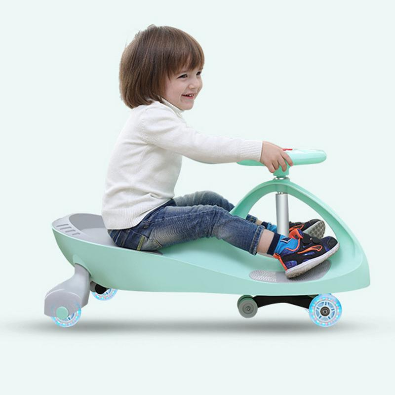 Children Yo-Yo Car Mute Slide Swing Toy Car Ride On Toy No Batteries Gears Or Pedals Twist Turn Wiggle For 1-8 Years Old Kids