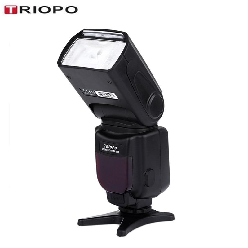 TRIOPO TR-950 Flash Light Speedlite LCD Display Universal For Fujifilm Olympus Nikon Canon 650D 550D 450D 1100D 60D 7D Cameras