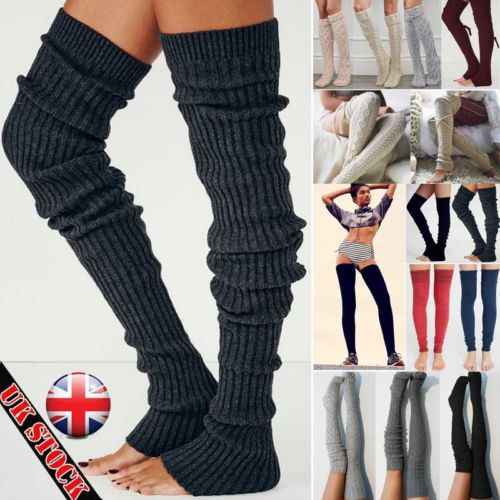 a98cdb96b79 Detail Feedback Questions about 2019 New Leg Warm Stocking Womens Winter  Knit Crochet Knitted Leg Warmers Thigh High Legging Boot Cover Hot on ...