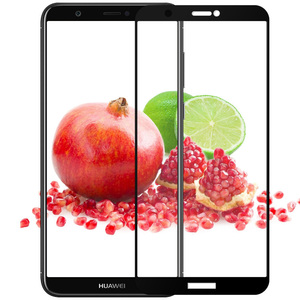 Image 3 - 3D מלא כיסוי מזג זכוכית עבור Huawei PSmart מסך מגן עבור Huawei P חכם מגן זכוכית סרט על תאנה LX1 LX2 LX3 LA1