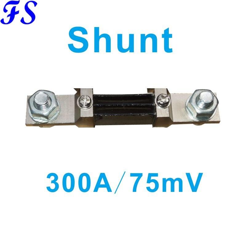 Внешний шунтирующий FL-2 300А/75мв токометр шунт 300А для токометра Амперметр Датчик тока шлицевой шунтирующий внешний шунт