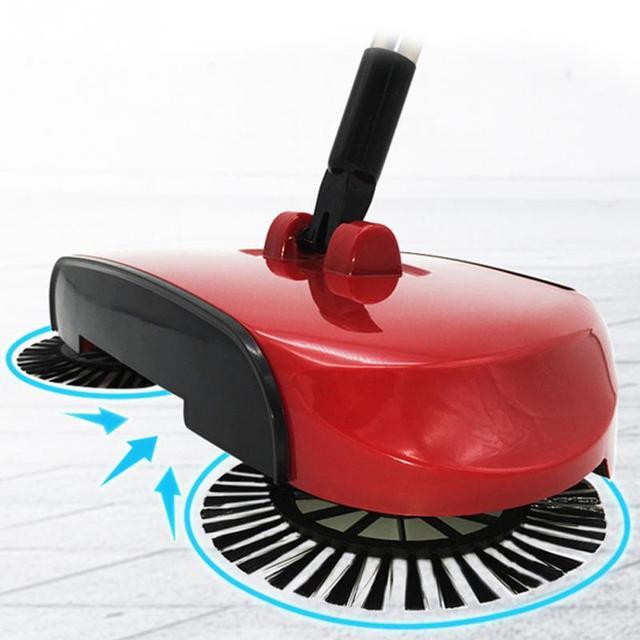 360 Rotary Sweeping Machine Magic Manual Telescopic Floor Dust Sweeper Home Use Sweep Robotic Mop Broom With Adjule Handle