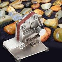 330 x 15mm DIY Mini Belt Sander Bench Mount Grinder Polishing Grinding Machine 100W EU PLUG Abrasive Tools