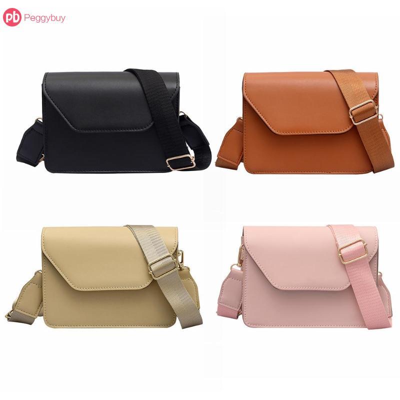 4073c9eb28155 Detail Feedback Questions about 1pcs Women Shoulder Bag Thick Strap Flap  Sling Bag Crossbody Bag Girl Shoulder Messenger Bags 19 15 6cm on  Aliexpress.com ...