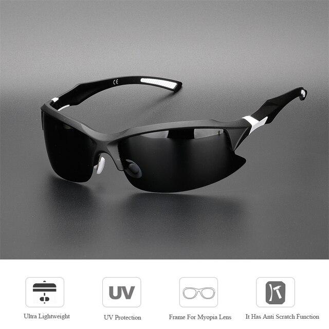 Comaxsun polarizado profissional óculos de ciclismo da bicicleta óculos de condução de pesca ao ar livre esportes óculos uv 400 tr90 3