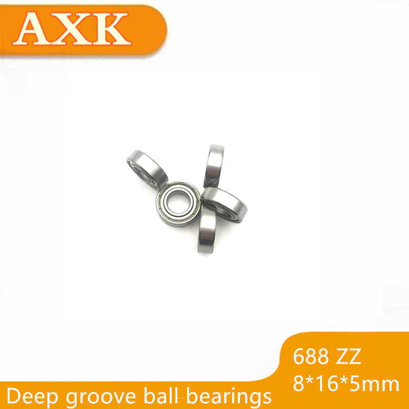 2019 Promotion Sale 688zz Bearing Abec-5 10pcs 8x16x5 Mm Miniature 688z Mini Ball Bearings 618/8zz Emq Z3 V3 Quality 688 Zz