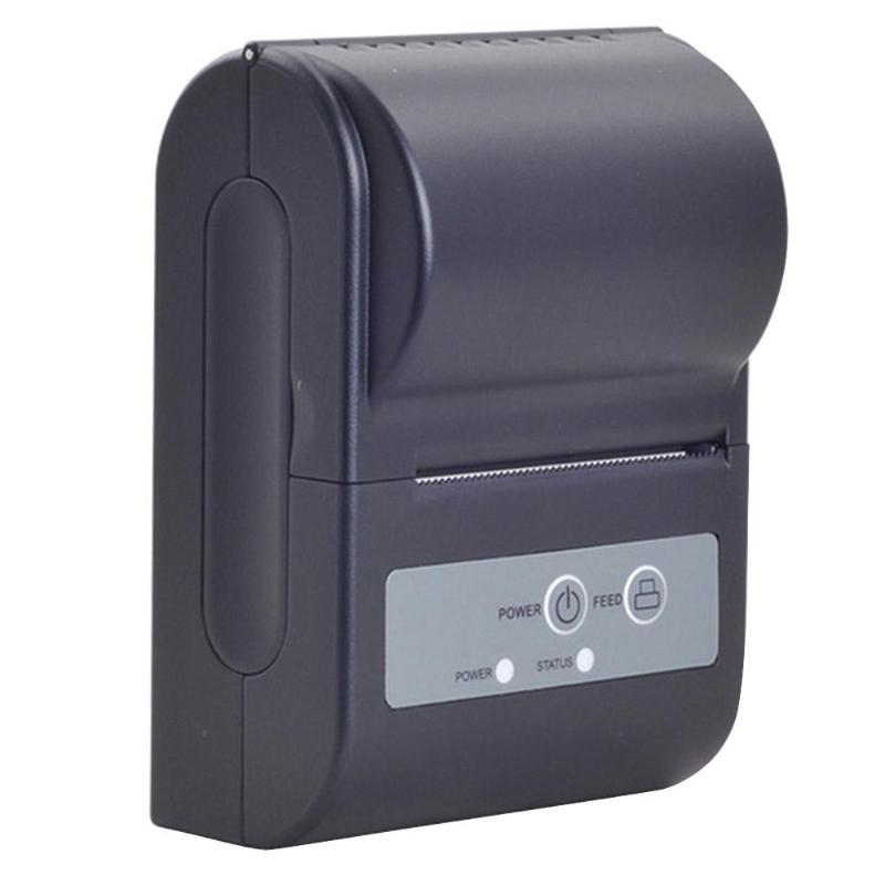 Mini Portable Bluetooth Wireless Thermal Receipt Printer For Android Phone US Plug