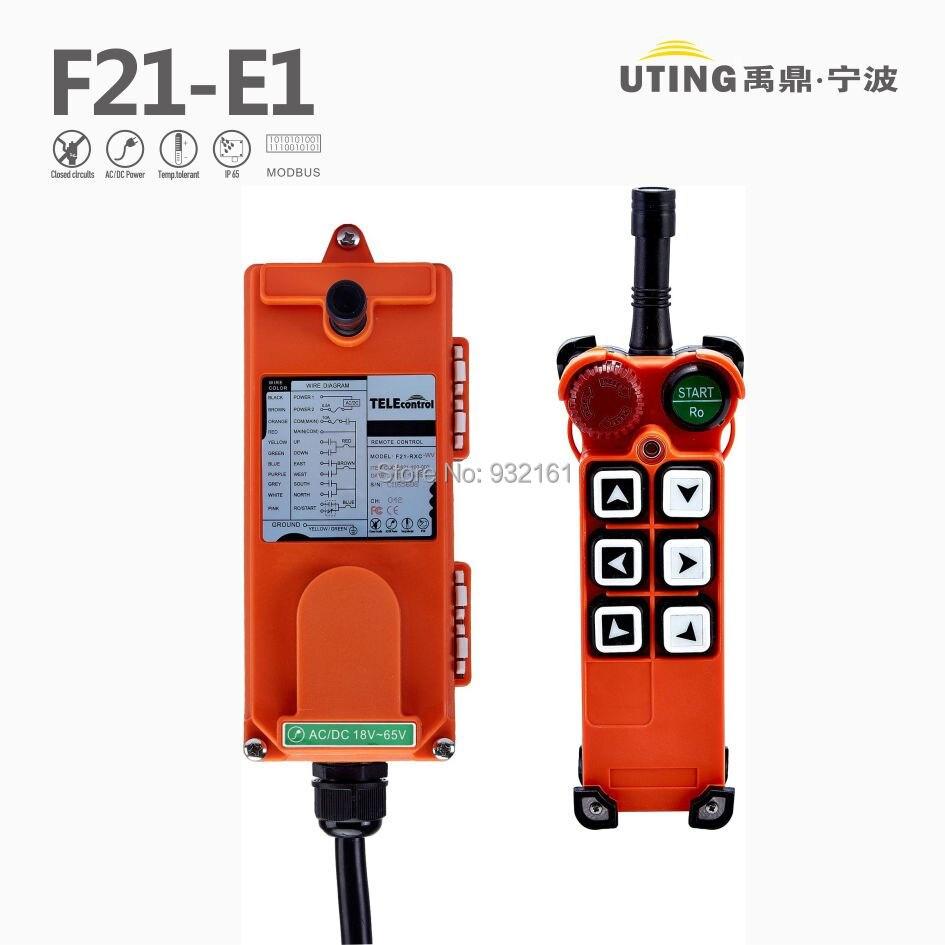 TELEcontrol Industrial Crane Remote Control F21 E1