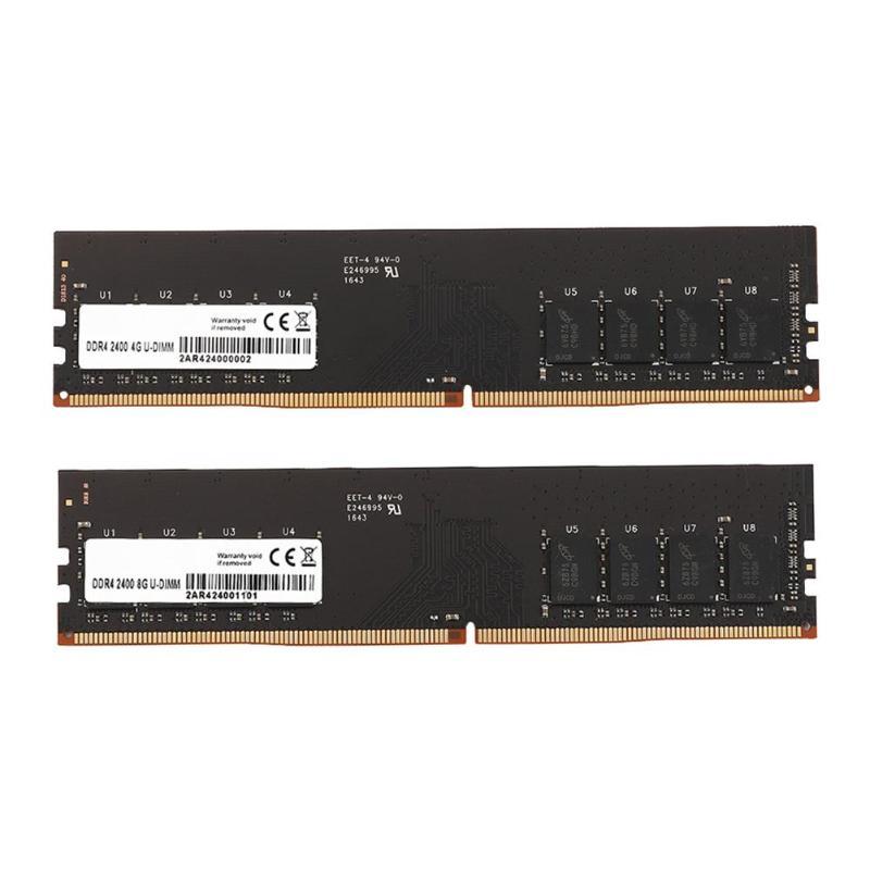 4g 8g DDR4 2400 mhz RAM PC Mémoire Ordinateur De Bureau Module Entièrement Compatible Système pour Intel pour AMD carte mère