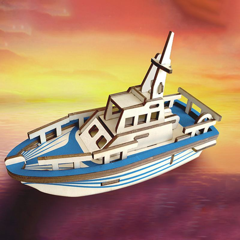 Dependable Infrared Cut Diy Yacht Model 3d Assembly Puzzle Manual Educational Woodcraft Wooden Model Set Toys For Children Teens And Adults Puzzles & Games Toys & Hobbies