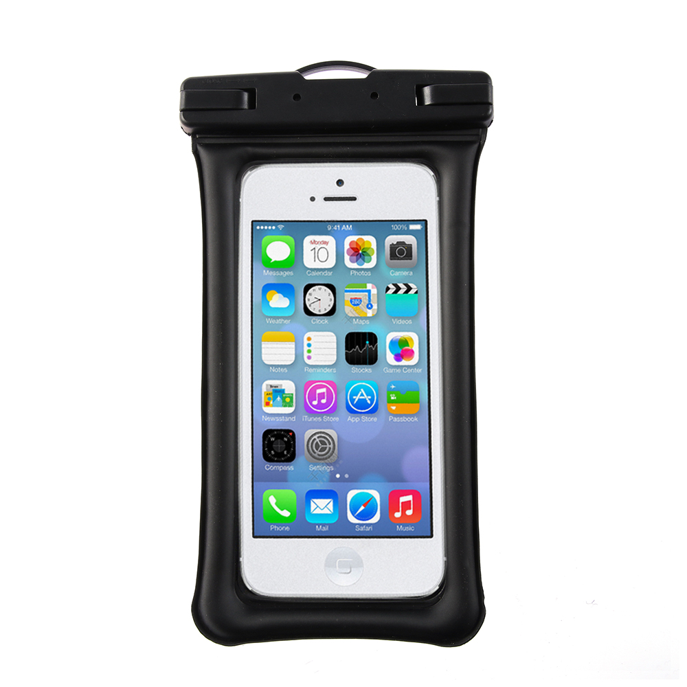 2019 New Air Bag Mobile Phone Waterproof Bag For Iphone 6p 7 8plus All Models 6.1 Inch Phone Case Floating With Lanyard
