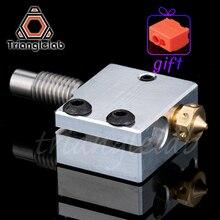Trianglelab 3d принтер вулканический обогреватель блок + распылитель высокого качества + тепловой выключатель для 3D-принтера для E3D Hotend DIY 3d принтер