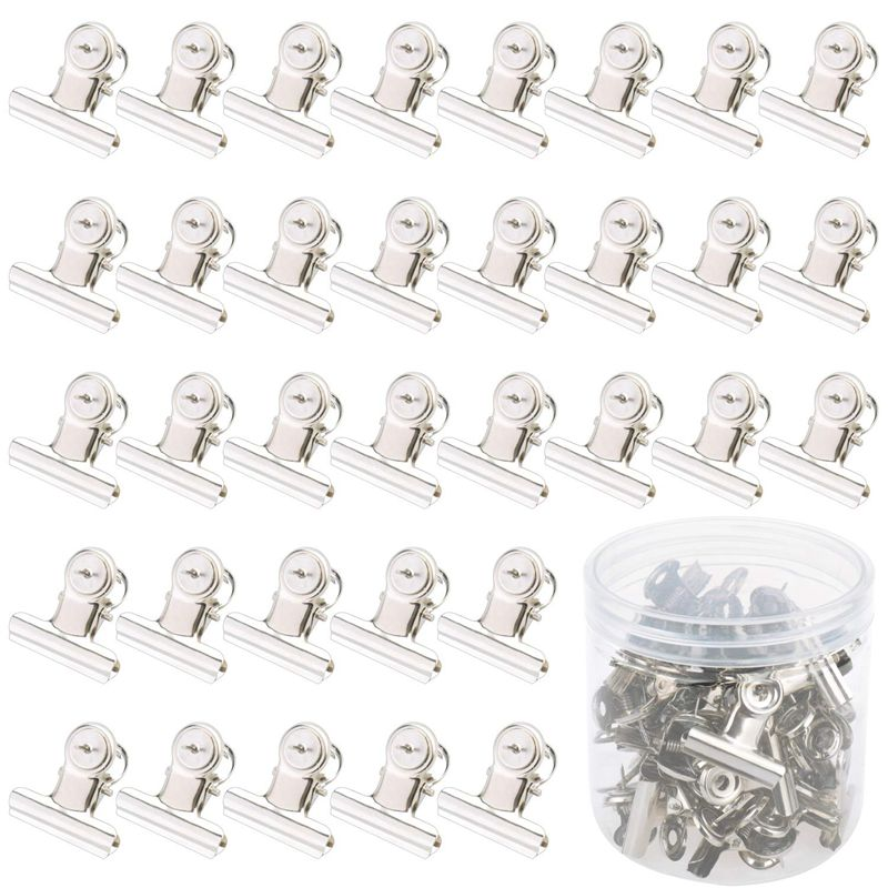 40 Pieces Push Pins Clips Tacks Clips Thumb Clips Wall Clips With Pins For Cork Boards Cubicle Walls Using Art Projects Photos