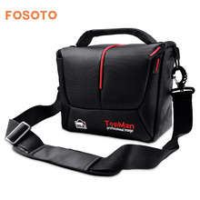 fosoto DSLR Camera Bag Fashion Digital Photo Video Case Waterproof Shoulder Bag For Dslr Sony Canon Nikon Camera Lens цена и фото