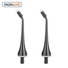 2 Orthodontic Tips With Mornwell D50BS Detal Water Flosser Oral Irrigator For Braces and Teeth Whitening