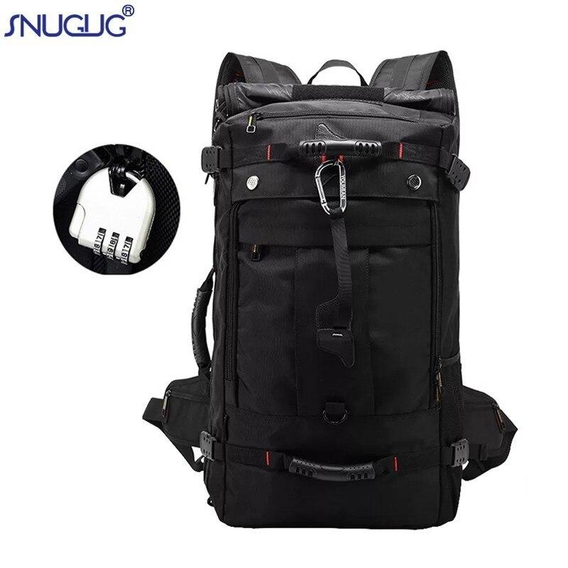 Hot High quality Men s Backpack Large Capacity Mochila Fashion Laptop Bag Multifunctional Waterproof Oxford Travel