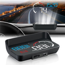 Новый автомобильный hud Дисплей obd2 приборная панель проекционный