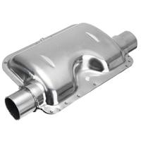 1pc Stainless Steel 24mm 0.94 Inch Exhaust Silencer Air Conditioning Heat Muffler For Webasto Eberspacher Auto Heater