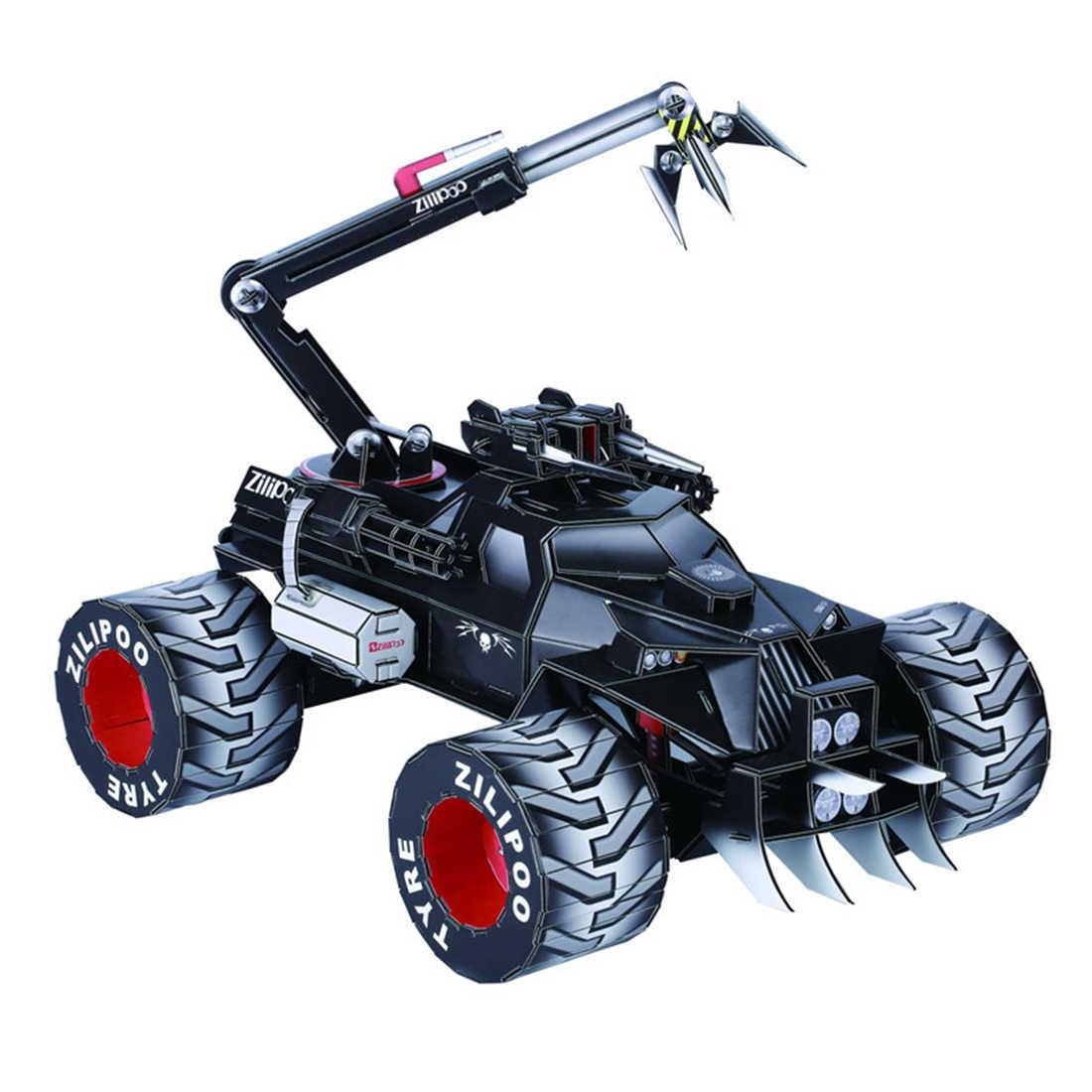 Surwish Новое поступление, игрушка для мальчиков, серия фантастика, спасательная машина, 3D Сборка, головоломка, обучающая игрушка для детей, игровой комплект