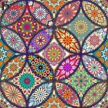 Huacan Diamond Painting Mandala Full Square Geometric Pictures By Rhinestones MosaicAbstract Embroidery Beading