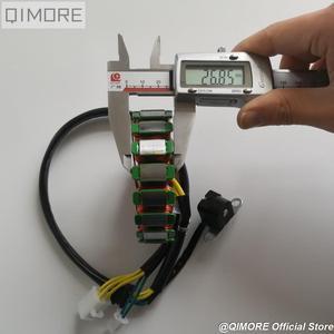Image 5 - Магнитный статор 93 мм с пикапом для скутера Majesty YP250 Linhai AEOLUS VOG 250 257 260 LH170MM xingyΦ