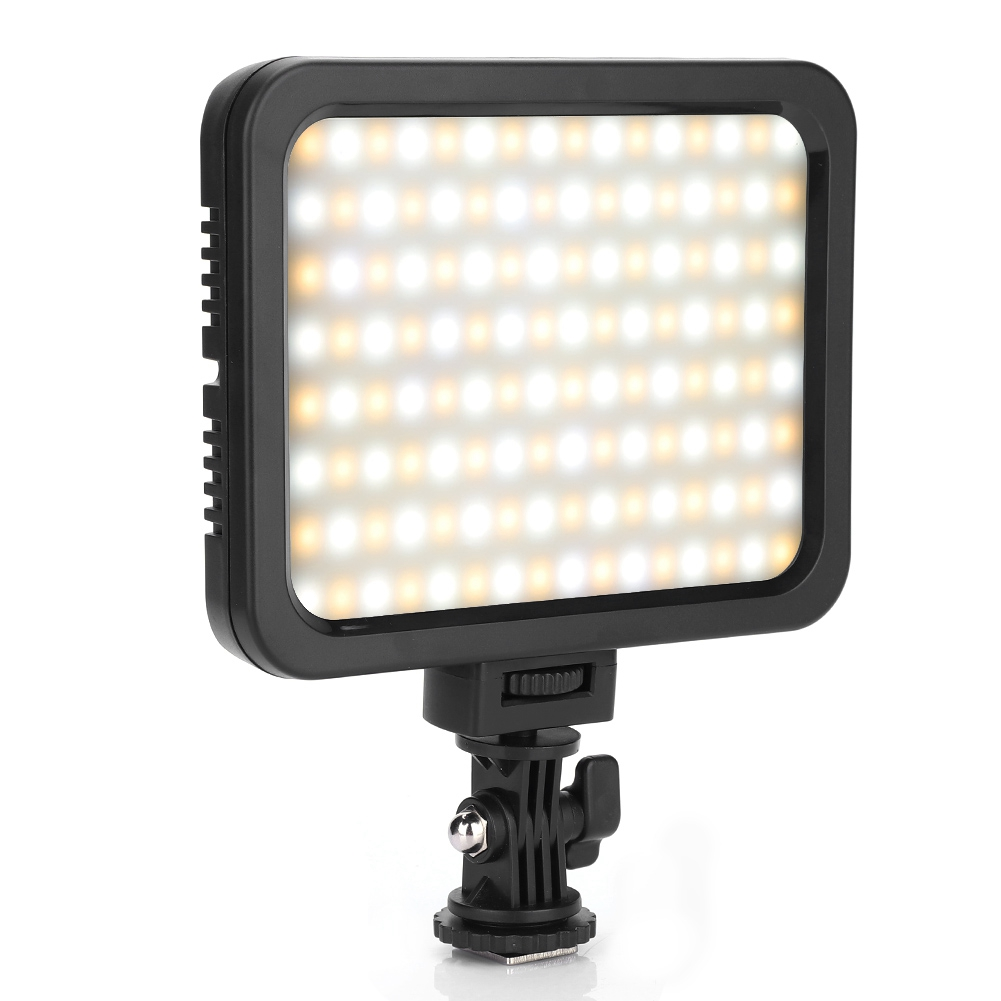ZF-128H Portable LED Fill Light Universal Rotatable Cold Shoe Mount Camera Accessory