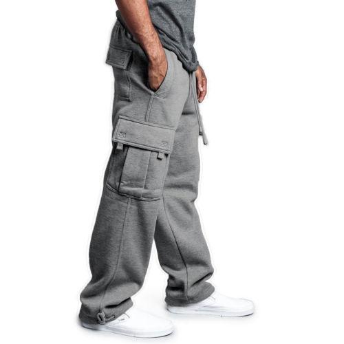 Gym Men 2019 NEW Fashion Long Loose Pants Casual Trousers Hip Hop Jogging Joggers Sweatpants Jogger Pants