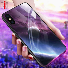 Hisomone Star Space Phone Case For iphone X Xs Max Xr Cute T
