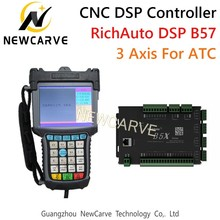 RichAuto Dsp B57 CNC 3 Axis Controller B57s B57e Manual For Automatic Tool Change Straight Line Tool Cnc Machine NEWCARVE все цены